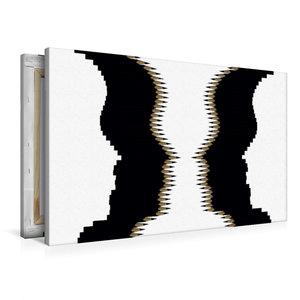 Premium Textil-Leinwand 90 cm x 60 cm quer Kippbild