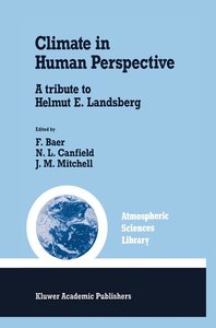 Climate in Human Perspective