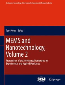 MEMS and Nanotechnology, Volume 2