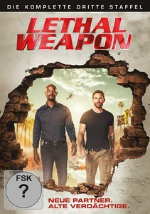 Lethal Weapon. Staffel.3, 3 DVD