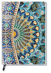 Premium Book Oriental Dome Notizbuch liniert
