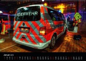 Berufsfeuerwehr Braunschweig (Wandkalender 2019 DIN A2 quer)