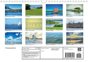 Flensburg Fjord (Wandkalender 2020 DIN A4 quer)