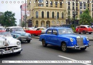 STERN-STUNDEN IN HAVANNA - MERCEDES-BENZ AUF KUBA (Tischkalender