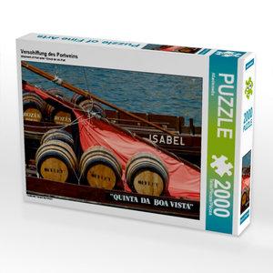 Verschiffung des Portweins 2000 Teile Puzzle quer
