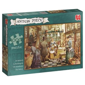Anton Pieck - Die Konditorei - Puzzle 1000 Teile