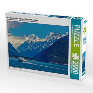 M/V Fairweather auf dem Weg nach Juneau 2000 Teile Puzzle quer