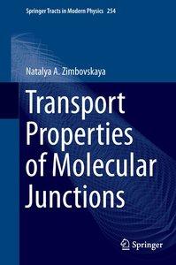 Transport Properties of Molecular Junctions