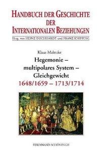 Handbuch der Geschichte der Internationalen Beziehungen 3. Hegem