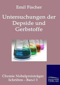 Untersuchungen über Depside und Gerbstoffe (1908-1919).