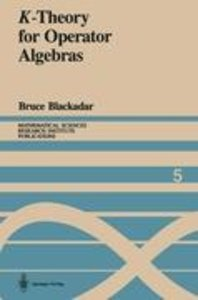 K-Theory for Operator Algebras