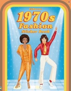 Historical Sticker Dolly Dressing 1970s Fashion