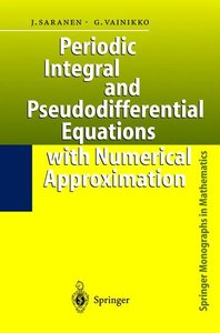 Periodic Integral and Pseudodifferential Equations with Numerica