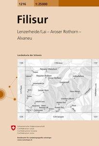 Swisstopo 1 : 25 000 Filisur