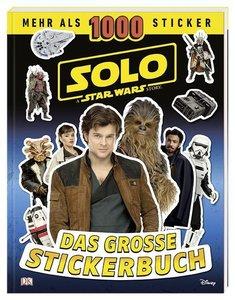 Solo A Star Wars Story Das große Stickerbuch