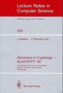 Advances in Cryptology - AUSCRYPT '90