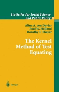 The Kernel Method of Test Equating