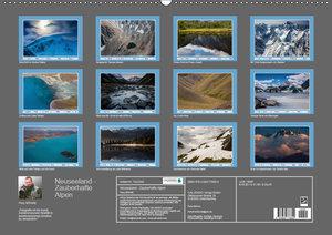 Neuseeland - Zauberhafte Alpen (Wandkalender 2019 DIN A2 quer)