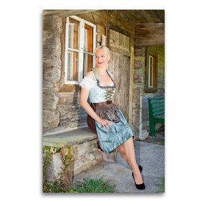 Premium Textil-Leinwand 60 cm x 90 cm hoch Erste Frühlingsgefühl