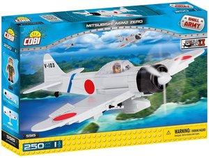 Cobi 5515 - Small Army, Mitsubishi A6M2 Zero-Sen, Grundjagdflugz