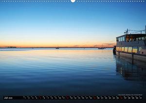 Steinhuder Meer, Momentaufnahmen von Christine Bienert (Wandkale