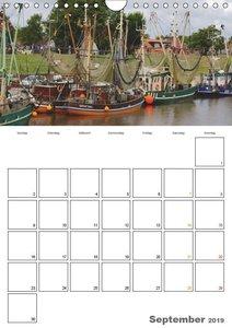 Greetsiel-Perle Ostfrieslands / Planer (Wandkalender 2019 DIN A4