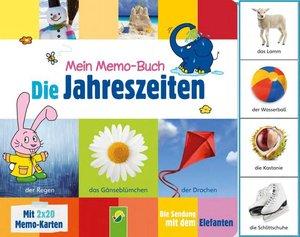 Mein Memo-Buch Die Jahreszeiten (Die Sendung mit dem Elefanten)