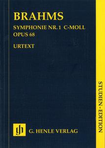Sinfonie Nr.1 c-Moll op.68, Partitur