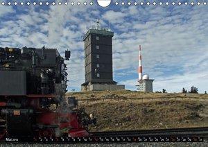 Harzer Dampfmomente (Wandkalender 2019 DIN A4 quer)
