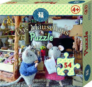 Das Mäusehaus-Puzzle 54 Teile