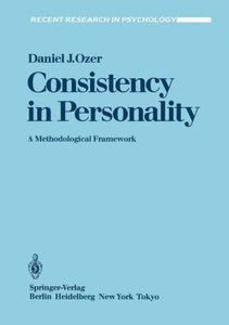 Consistency in Personality