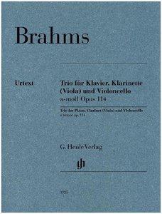 Trio für Klavier, Klarinette (Viola) und Violoncello a-moll op.