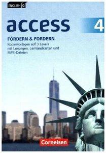 English G Access Band 4: 8. Schuljahr - Allgemeine Ausgabe - För