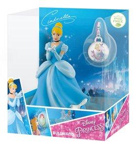 Bullyland 13419 - Disney Princess, Cinderella mit Schmuckanhänge