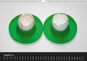 ei.ei.ei - Fotografische Gedanken zum Ei (Wandkalender 2019 DIN