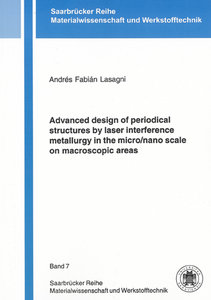 Advanced design of periodical structures by laser interference m