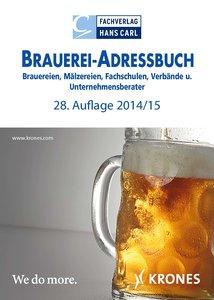 Brauerei-Adressbuch, 28. Auflage, 2014/15
