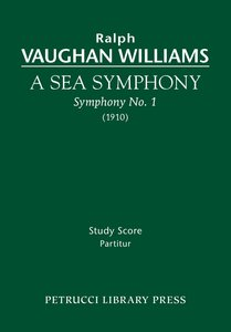 A Sea Symphony - Study Score