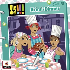 Die drei !!! 51: Krimi-Dinner (Audio-CD)