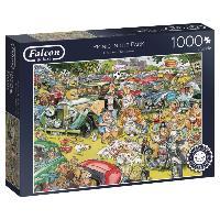 Falcon 11199 - Picnic in the Parc, Puzzle, 1000 Teile - zum Schließen ins Bild klicken