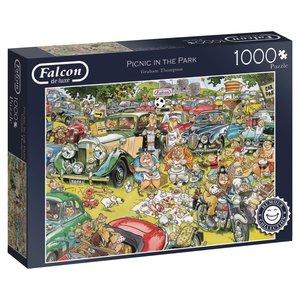 Falcon 11199 - Picnic in the Parc, Puzzle, 1000 Teile