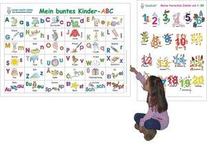 Mein buntes Kinder-ABC + Meine tierischen Zahlen/2 Poster