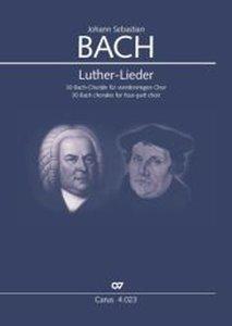 Luther-Lieder, für vierstimmigen Chor