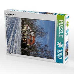 CALVENDO Puzzle Parkschlösschen 1000 Teile Lege-Größe 48 x 64 cm