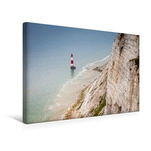 Premium Textil-Leinwand 45 cm x 30 cm quer Beachy Head Leuchttur
