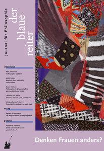 Der Blaue Reiter. Journal für Philosophie / Denken Frauen anders