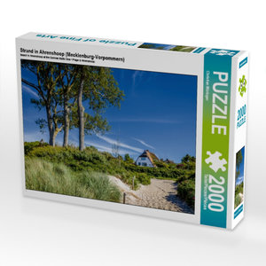 Strand in Ahrenshoop (Mecklenburg-Vorpommern) 2000 Teile Puzzle