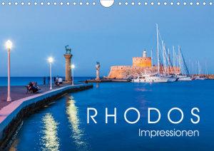 RHODOS Impressionen (Wandkalender 2020 DIN A4 quer)