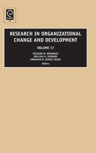 Research in Organizational Change and Development, Volume 17