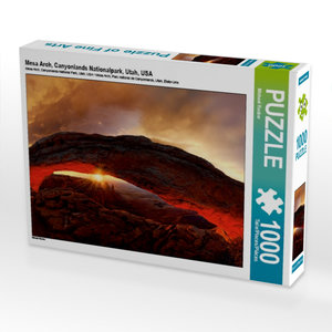 Mesa Arch, Canyonlands Nationalpark, Utah, USA 1000 Teile Puzzle